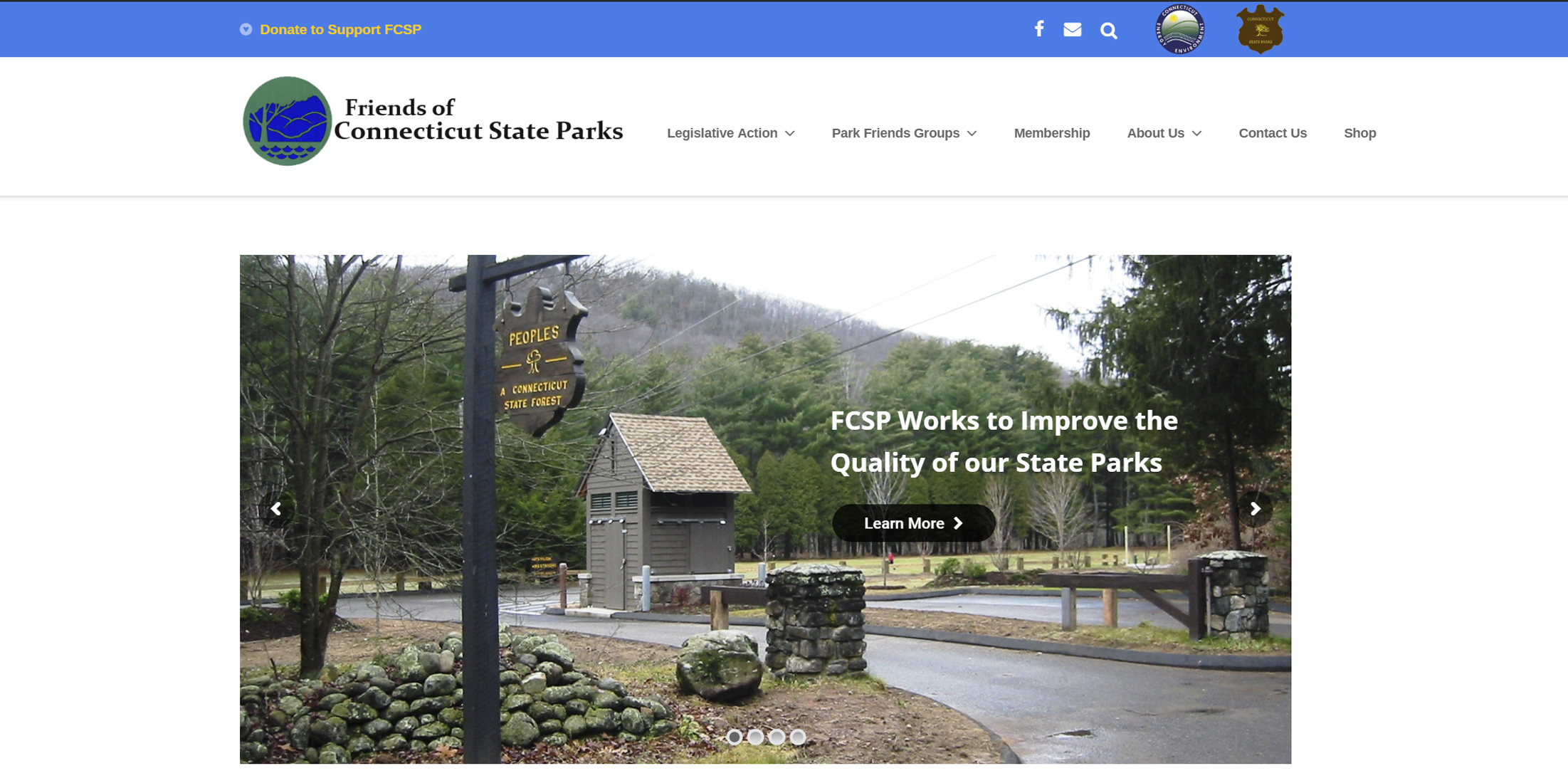Friends of CT State Parks - ColandreaDesign